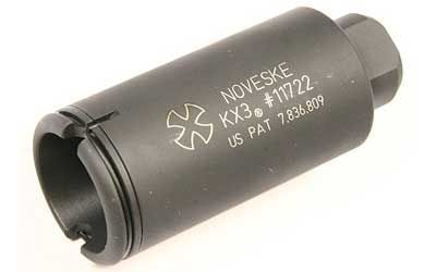 NOVESKE KX3 FLASH SUPPRESSOR 1/2X28