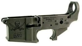 Spike's Calico Jack Stripped Lower Reciever