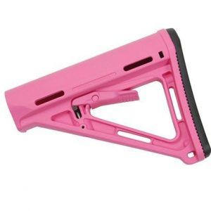 Magpul MOE Stock, Mil-Spec, PINK
