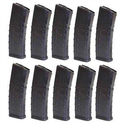 10 Pack of Gen 2 MOE Pmags, Black